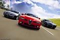 Photo  Alfa Romeo Brera S section Photo Alfa Romeo